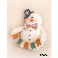 """Ваниль 00000063087 Набор для изготовления игрушки  """"SNOW STORY"""" CH001 Снеговик 15см"""