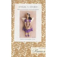 """Ваниль A009 Набор для изготовления игрушки """"ANGEL'S STORY"""""""