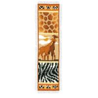 Vervaco 08 Закладка 6*20 см  Африка. Жирафы,
