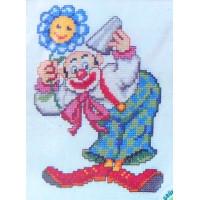 Pako 210.854 Клоун с цветком