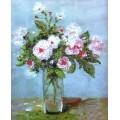 Vervaco 2397 2397 Комплект для вышивания бисером 21х25 см Розовые розы