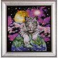 Vervaco 2411 2411 Комплект для вышивания (счетный крест) 33х33см Tiger of the heavens (Небесный тигр)