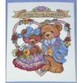 Vervaco 9646 9646 Комплект для вышивания (счетный крест) 20х25 см I love you bears