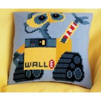 "Vervaco Комплект для вышивания  WALT DISNEY Комплект для вышивания  WALT DISNEY  ""Валли""  40*40см подушка"