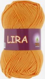 Пряжа для вязания Vita Cotton Lira (Вита Лира) Цвет 5034 желток
