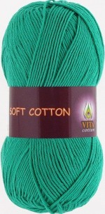 Vita Cotton Soft Cotton Цвет 1820 голубой