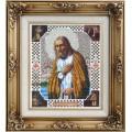 Вышиваем бисером L-16 Преподобный Серафим Саровский