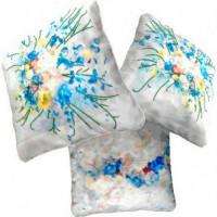 Вышиваем бисером Р-4 Подушка Цветы