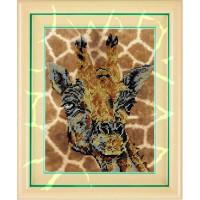 Вышиваем бисером В-27 Жираф