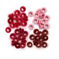 We R Memory Keepers 41573-2 Набор люверсов, цвет - красный (стандарт)