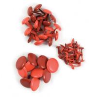 We R Memory Keepers 42040-8 Набор брадсов, цвет - красный