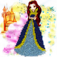"WOMAN HOBBY ДП0001 Набор для вышивания бисером ""WH"" ДП0001 Принцесса-1"