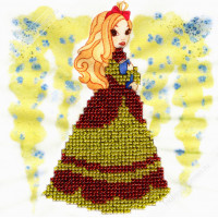 "WOMAN HOBBY ДП0007 Набор для вышивания бисером ""WH"" ДП0007 Принцесса-7"