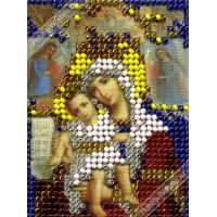 """WOMAN HOBBY ИЧ0011 Набор для вышивания бисером """"WH"""" ИЧ0011 Божья матерь Достойно есть"""