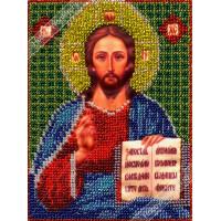 """WOMAN HOBBY ИЧМ0005 Набор для вышивания бисером """"WH"""" ИЧМ0005 Христос Спаситель"""