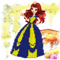 "WOMAN HOBBY Принцесса-4 Набор для вышивания бисером ""WH"" ДП0004 Принцесса-4"