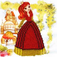 "WOMAN HOBBY Принцесса-5 Набор для вышивания бисером ""WH"" ДП0005 Принцесса-5"