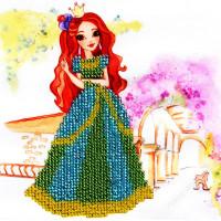 "WOMAN HOBBY Принцесса-6 Набор для вышивания бисером ""WH"" ДП0006 Принцесса-6"