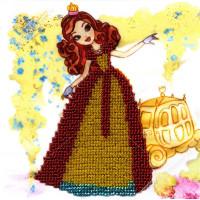 "WOMAN HOBBY Принцесса-8 Набор для вышивания бисером ""WH"" ДП0008 Принцесса-8"