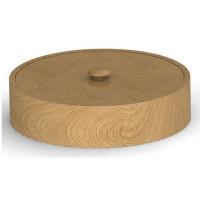 Прочие Шк круг 04 Деревянная шкатулка круглая 145 мм