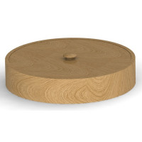 Прочие Шк круг 05 Деревянная шкатулка круглая 176 мм