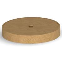 Прочие Шк круг 07 Деревянная шкатулка круглая 240 мм