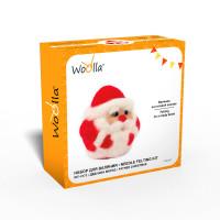 "Woolla WT-0173 ""Woolla"" WT-0173 ""Дедушка Мороз"" набор для валяния ."