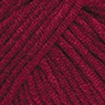 Пряжа YarnArt Jeans (Ярнарт Джинс) Цвет 66 вишневый
