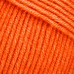 Пряжа YarnArt Jeans (Ярнарт Джинс) Цвет 77 оранжевый