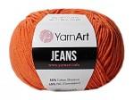 Пряжа YarnArt Jeans (Ярнарт Джинс) Цвет 85 терракот