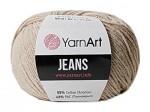 Пряжа YarnArt Jeans (Ярнарт Джинс) Цвет 87 песочный