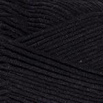 YarnArt Jeans Plus Цвет 53 черный