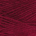 YarnArt Jeans Plus Цвет 66 бордо