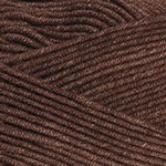 YarnArt Jeans Plus Цвет 70 коричневый