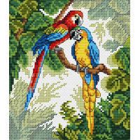 Жар-птица М-033 Набор для вышивания «Жар-птица» М-033 Ярких красок хоровод 10*15