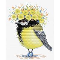 Жар-птица М-203 Набор для вышивания «Жар-птица» М-203 Солнечная пташка 18*15