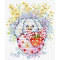 Жар-птица М-225 Набор для вышивания «Жар-птица» М-225 Пасхальный кролик 18*14 см