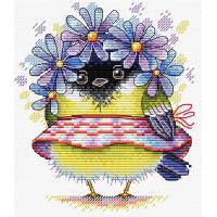 Жар-птица М-299 Набор для вышивания «Жар-Птица» М-299 Романтичная синичка 16*14 см