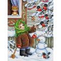 Жар-птица М-320 Зимняя прогулка