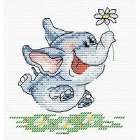 Жар-птица Набор для вышивания «Жар-птица» М-036 Счастье есть 15*10 Набор для вышивания «Жар-птица» М-036 Счастье есть 15*10