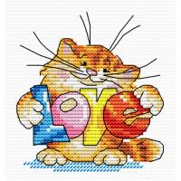 Жар-птица Набор для вышивания «Жар-птица» М-037 Подарю тебе любовь 15*10 Набор для вышивания «Жар-птица» М-037 Подарю тебе любовь 15*10