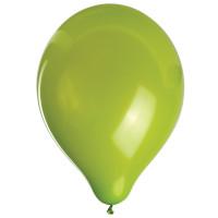 """ZIPPY 104176 Шары воздушные ZIPPY (ЗИППИ) 10"""" (25 см), комплект 50 шт., зеленые, в пакете, 104176"""