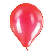 """ZIPPY 104183 Шары воздушные ZIPPY (ЗИППИ) 10"""" (25 см), комплект 50 шт., неоновые красные, в пакете, 104183"""