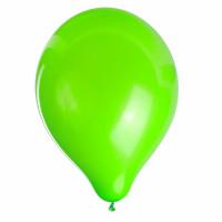 """ZIPPY 104184 Шары воздушные ZIPPY (ЗИППИ) 10"""" (25 см), комплект 50 шт., неоновые зеленые, в пакете, 104184"""
