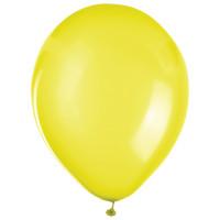 """ZIPPY 104189 Шары воздушные ZIPPY (ЗИППИ) 12"""" (30 см), комплект 50 шт., желтые, в пакете, 104189"""