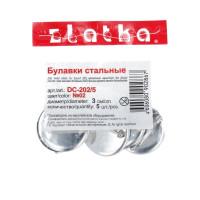 """Zlatka DC-202/5 """"Zlatka"""" Заготовки для броши DC-202/5 5 шт №02 под никель"""