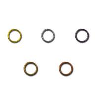 """Zlatka R-02 """"Zlatka"""" Кольцо для бус R-02 5 мм ± 1 мм 50 шт №03 под черный никель"""