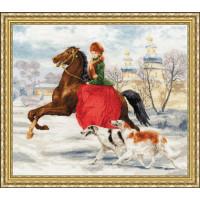 Золотое руно ЧМ-052 Зимняя прогулка