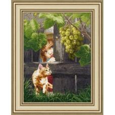 Набор для вышивания ЧМ-059 За виноградом