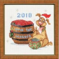 Золотое руно МТ-020 Год собаки 2018